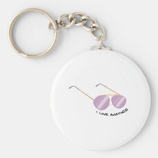 Kärlekflygare Nyckelring