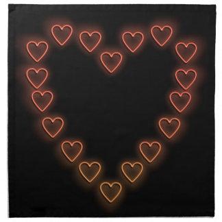 Kärlekhearts. Tygservett