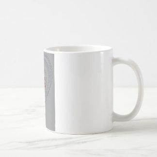 Kärlekhjärta formar kaffemugg