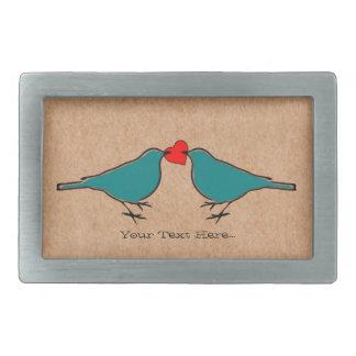 Kärlekhjärta och fågelvalentines