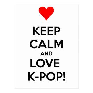 KärlekK-Pop! Vykort