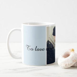 Kärlekkaffemugg Vit Mugg