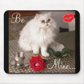 Kärlekkatt II Mousepad - anpassade Mus Matta