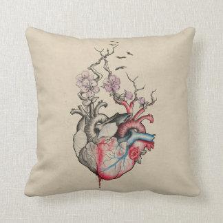 Kärlekkonst applicerade anatomical hjärtor med kudde