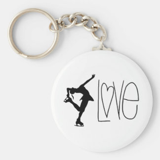 """""""Kärlekkonståkning"""" nyckelring"""