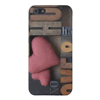 kärlekkramhjärtor iphone4 täcker iPhone 5 cover