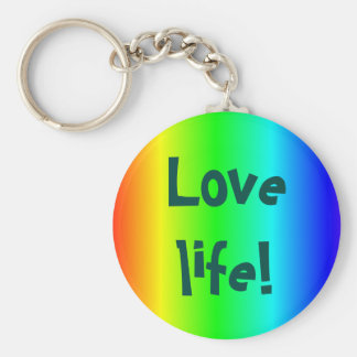 Kärlekliv! mång--färgad nyckelring