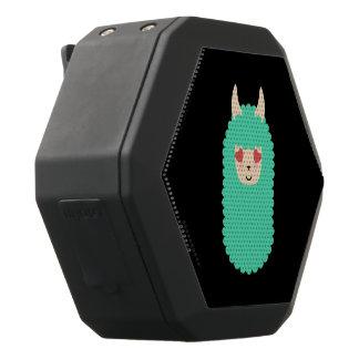 KärlekLlama Emoji Svart Bluetooth Högtalare