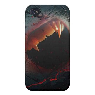 Kärlekmen, blodig vampyrbita iPhone 4 cases
