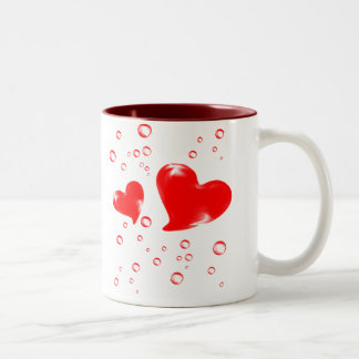 kärlekmuggar Två-Tonad mugg