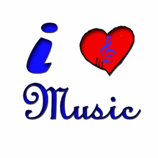 kärlekmusikprydnad photo cutout