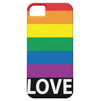 Kärlekregnbåge, gay pride, LGBT iPhone 5 Case-Mate Skydd