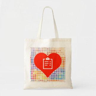 Kärlekskriva Budget Tygkasse