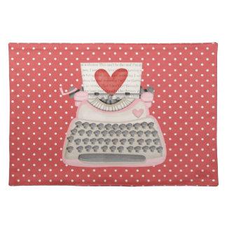 Kärlekskrivmaskin Bordstablett