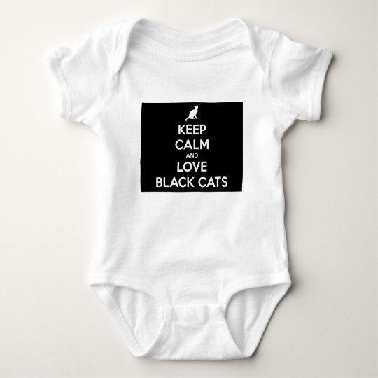 Kärleksvarta katter tee shirt