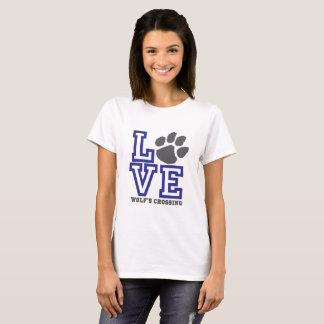KÄRLEKvarg korsning T-shirt