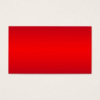Kärn- röd lutning - tom röda mall för vallmo visitkort