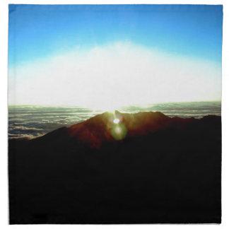 Kärn- soluppgång tygservett