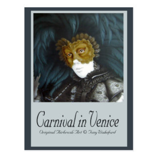 Karneval i Venedig Vykort