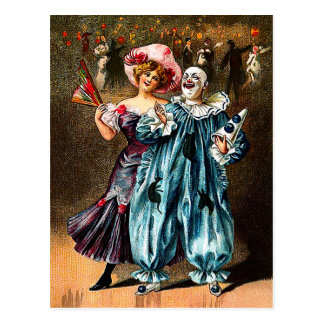 Karneval: Jolly kamrater Vykort