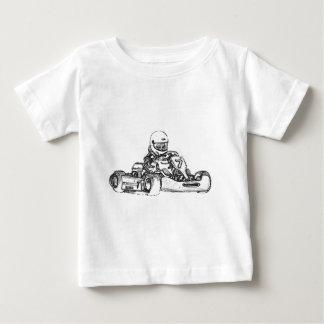 Kart tävla ritar skissar tee shirt