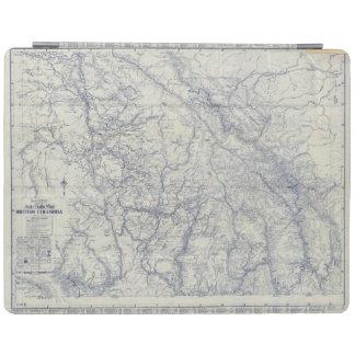 Karta 2 för slingor för RandMcNally officiell 1925 iPad Skydd