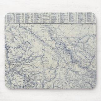 Karta 2 för slingor för RandMcNally officiell 1925 Musmatta