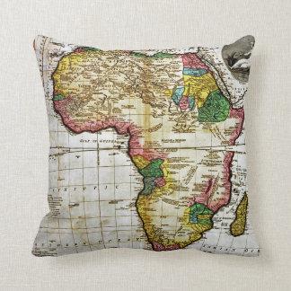 Karta av afrikan kudde