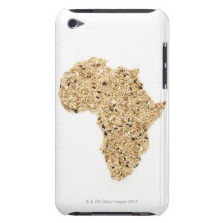 Karta av afrikan som göras av sädesslag iPod Case-Mate cases