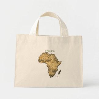 Karta av AFRIKAserien Mini Tygkasse