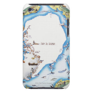 Karta av arktisken Case-Mate iPod touch case