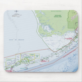 Karta av de Florida nycklarna Mus Matta