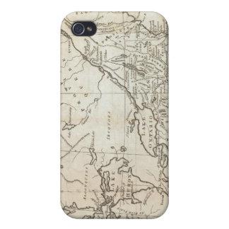 Karta av den nordliga och mittetstater iPhone 4 fodral