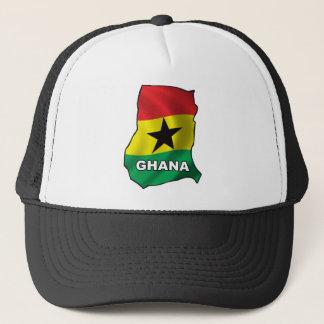 Karta av Ghana Keps