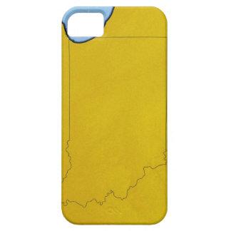 Karta av Indiana iPhone 5 Case-Mate Fodraler