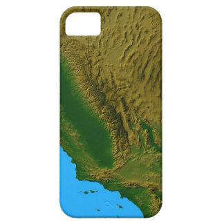 Karta av Kalifornien och Nevada 2 Barely There iPhone 5 Fodral