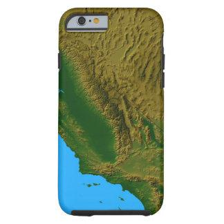 Karta av Kalifornien och Nevada 2 Tough iPhone 6 Case