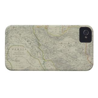 Karta av mellan östern iPhone 4 skydd
