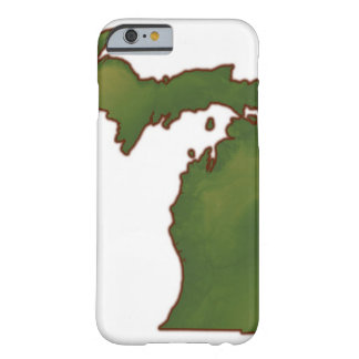 Karta av Michigan 4 Barely There iPhone 6 Fodral