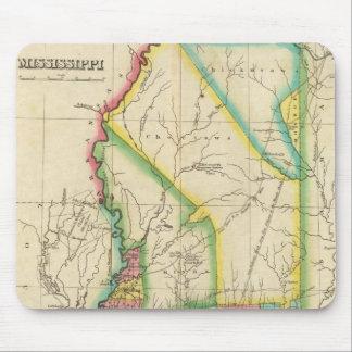 Karta av Mississippi Musmatta