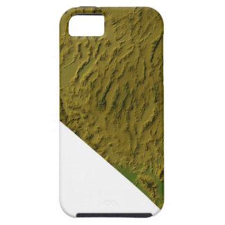 Karta av Nevada iPhone 5 Cases