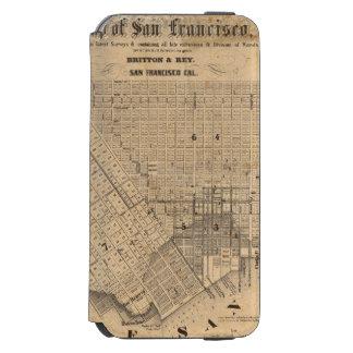 Karta av San Francisco