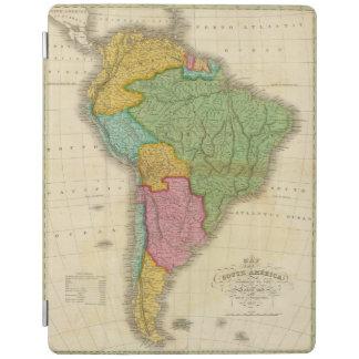 Karta av South America 4 iPad Skydd