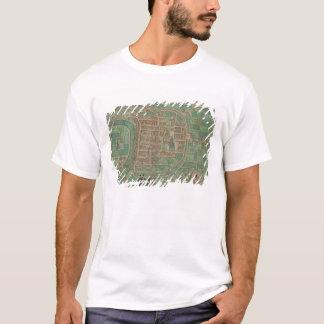 """Karta av Trento, från """"Civitates Orbis Terrarum"""" T-shirt"""