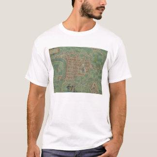"""Karta av Trento, från """"Civitates Orbis Terrarum"""" T-shirts"""