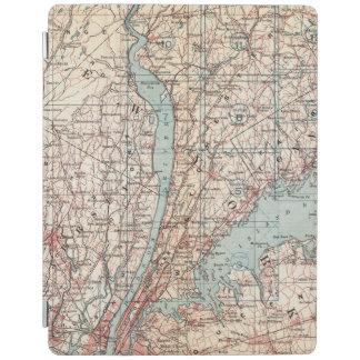 Karta av Westchester County, New York iPad Skydd