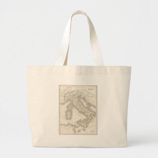 Gammal Karta Italien.Karta For Italien For Gammal Varld For Vintage Jumbo Tygkasse