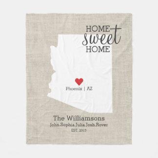 Karta för statligt kärlekhem hem för sötsak för