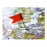 Kartan klämmer fast förlagt i Berlin, Tyskland på  Vykort