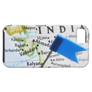 Kartan klämmer fast förlagt i Mumbai, Indien på iPhone 5 Case-Mate Fodral
